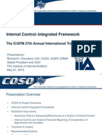Internal Control–Integrated Framework