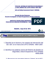 Estructura y Requisitos NTC-OHSAS 18.001_2007 (GoNaBe) 2013