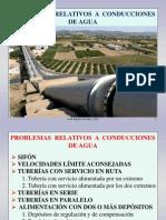 Fluidos 9. Problemas Relativos a Conducciones de Agua