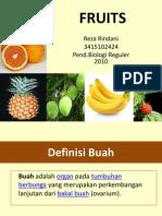 PPT Botani Ekonomi (Fruits) Reza Rindani PBR 2010