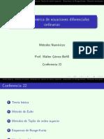 Conf 22 Ecuaciones Diferenciales Ordinarias
