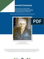 Program_Lt. Gen. Andrews_Memorial 3rd May 2013
