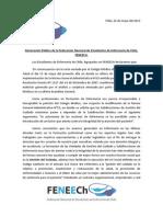 Declaración Pública FENEECH 22 de mayo 2013 final