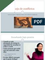 4.5 Manejo de Conflictos