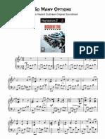 Resident Evil Outbreak (Piano Theme)
