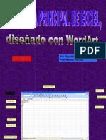 Pantalla Excel