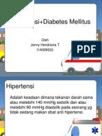 Hipertensi + Diabetes Mellitus