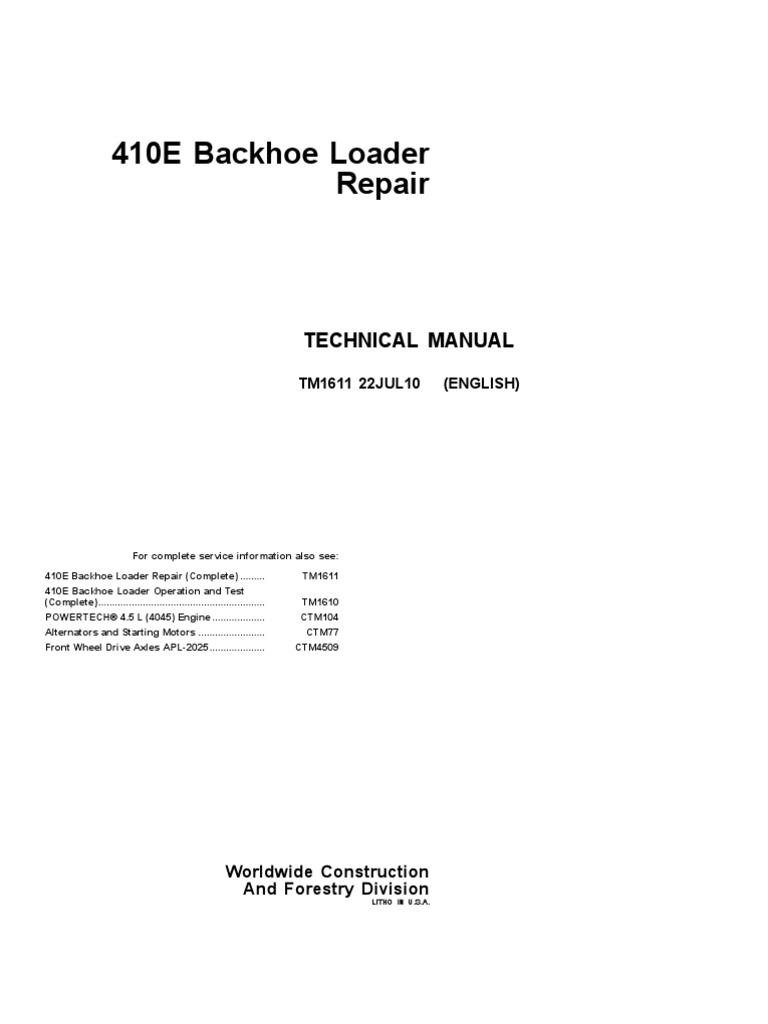 John Deere 310se Wiring Diagram Electrical Diagrams 450c Engine Basic Guide U2022 486e