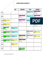 Grille Horaire GPH a-2013
