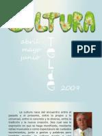 cultura  (programacion abril-junio 2009)