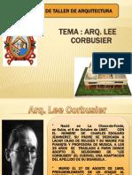 Arquitecto Lee Corbusier