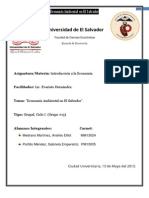 Economia Ambiental en El Salvador