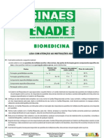 Prova de Biomedicina 2006