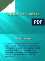 Clase 4 Objetivos-metas