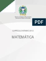 MATEMATICA_Curriculo Mínimo
