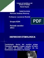 tanatologia1-120530113353-phpapp01