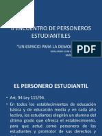 II Encuentro de Personeros Estudiantiles Presentacion Ley 1620-13