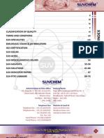 Suvchem Price List 2012-2013-Inr (1)