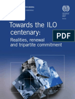 Towards the ILO centenary