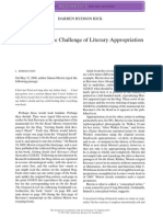 Ontology and Literary Appropriation