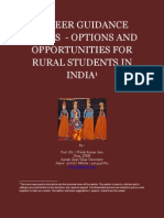 Career Guidance Series - Options and Opportunities for Rural Students in India