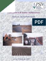 Manual de Supervision Sistemas de Riego Tecnificado
