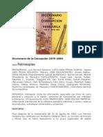 Diccionario de la Corrupción 1979-1984 Venezuela.docx