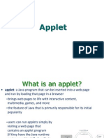 Java_Applets for object oriented programming