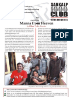 Sankalp Newsletter April 2013