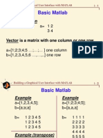 Basic Matlab GUI