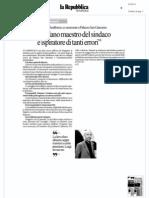 Rassegna Stampa 24.05.13