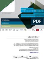 10 congreso Asoc Internacional de Semiótica Visual, progr