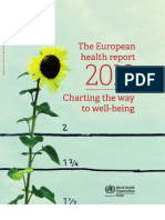 The European Health Report 2012, FULL REPORT w Cover