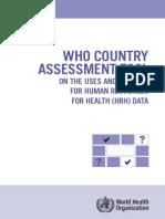 HRH Data-Online Version Survey Use Sources