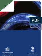 Australia India Joint FTA Feasibility Study