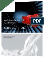 Bruciatori Di Gas 750 1000