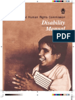 NHRC Book Disability