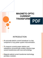 Magneto Optic Current