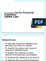 Accounting for Financial Liabilities