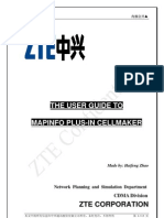 User Guide to MapInfo Plus-In CellMaker