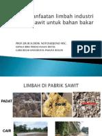 Materi Pemanfaatan Limbah Industri Kelapa Sawit DidikNotosujono