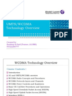 UMTS-WCDMA Technology Overview 211110