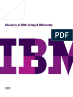 Diversity at IBM Doing It Differently