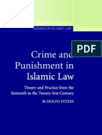 Crime Punishment Islamic Law