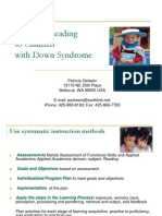 Teaching Reading to Children With Ds 08