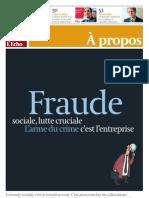 """""""L'arme du crime, c'est l'entreprise"""". Prix Belfius"""
