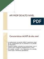 API Midp de Alto Nivel