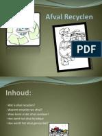Presentatie recyclen