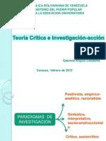 Teoria Critica Investigacion accio.ppt