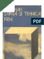 Almanah Stiinta Si Tehnica 1984